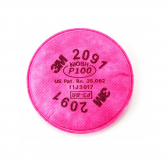 3M™ Particulate Filter 2091/07000(AAD), P100 Respiratory Protection, 100/cs